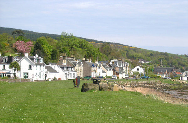 Lamlash waterfront, Arran