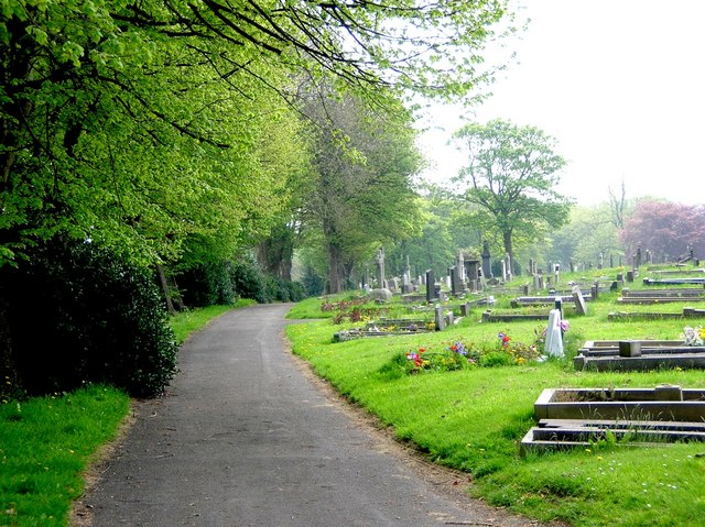 Almondbury Cemetery, Nr Huddersfield