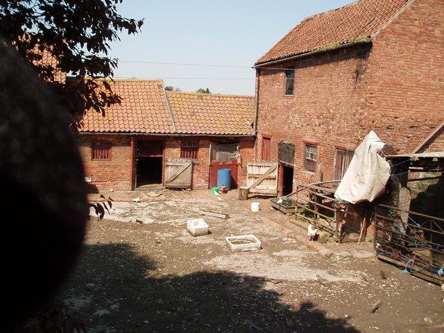 Traditional Nottinghamshire farmyard (view 2) Tuxford