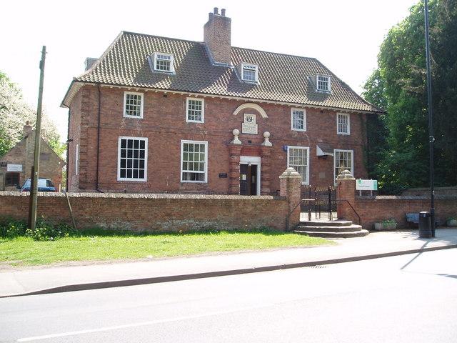 Read Grammar School (now library) Tuxford, Nottinghamshire
