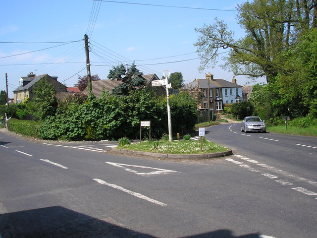 Road junction, Knockholt Pound, Kent