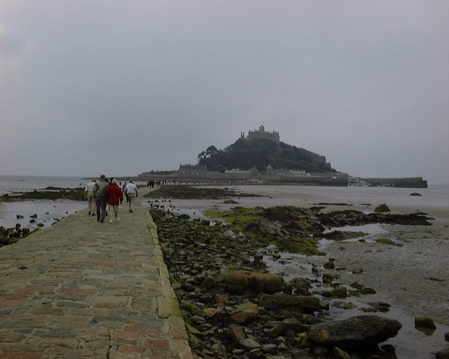St Michaels Mount from the Causeway