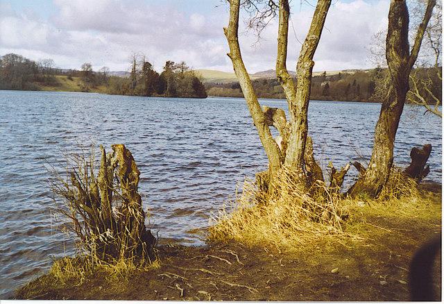Clunie Castle Island, Loch of Clunie.