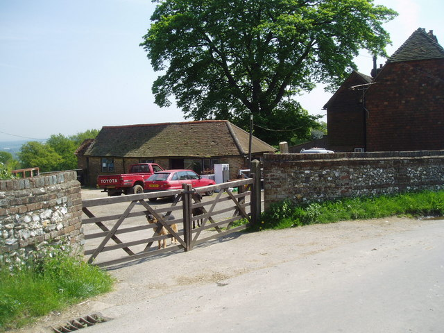 Entrance to Brasted Hill Farm, Kent
