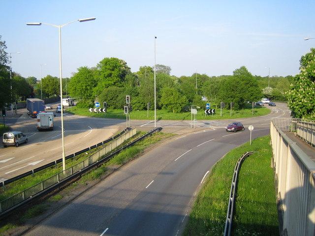 London Colney Roundabout