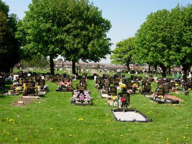 Cemetery at Marley Potts, Sunderland