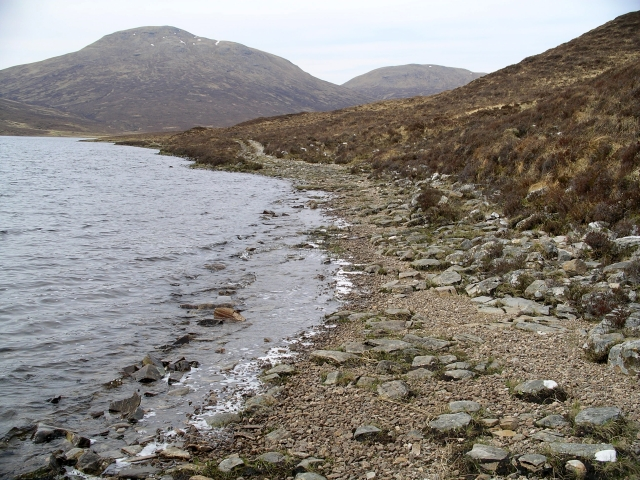 Shoreline, Loch a'Braoin