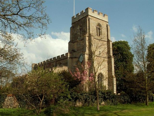 St. John the Baptist church, Stoke by Clare, Suffolk