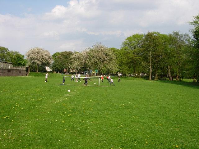 A local park in Herrington, Sunderland