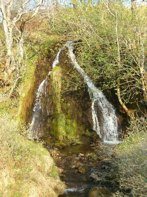 Waterfall above Kilmartin