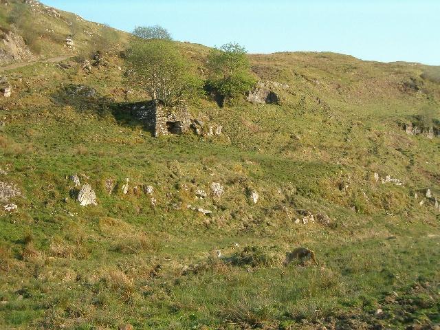 Limekiln above Kilmartin