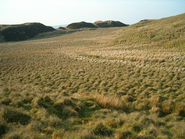 Moorland below Beinn Bhan
