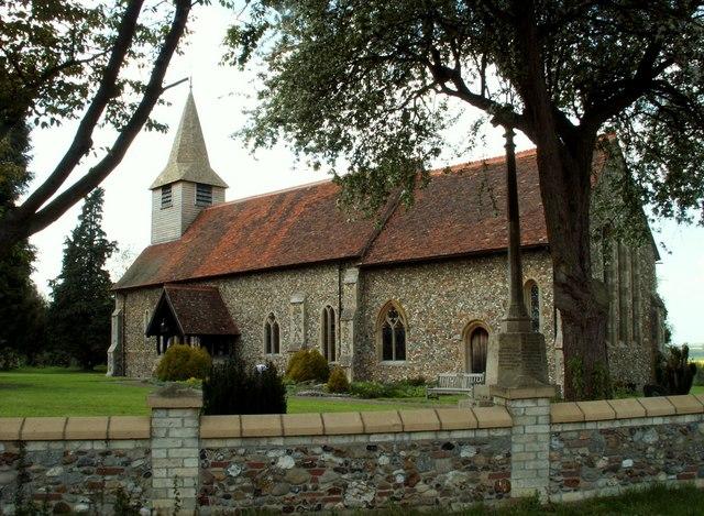 St. Augustine of Canterbury church, Birdbrook, Essex