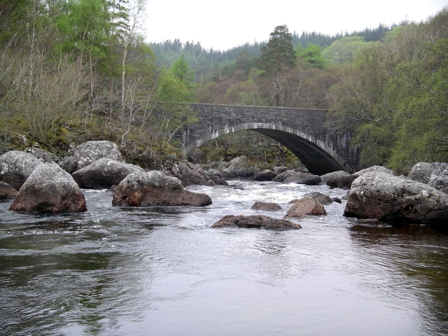 Bridge over River Gruinard