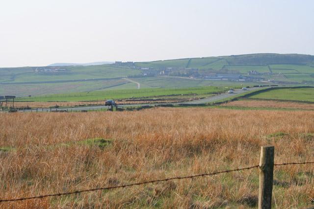 A53 on Morridge Top