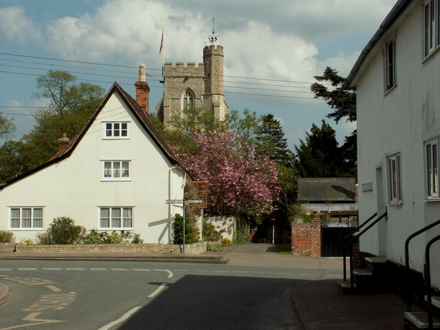 Hundon village, Suffolk