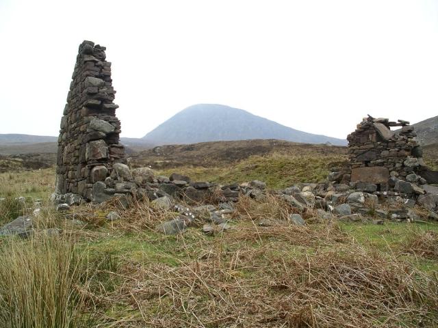 Ruined house, Craigour