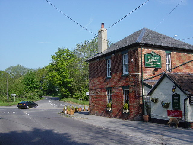 The Golden Pot pub, Golden Pot, near Alton