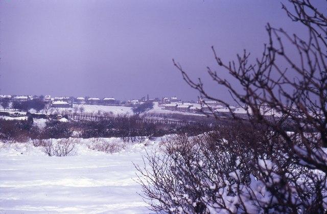 Manor Fields, Sheffield, Winter 1969