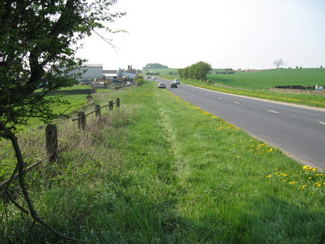 The A629 near Penistone