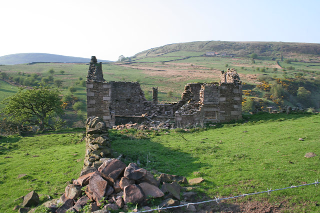 Ruined house at Spring Head