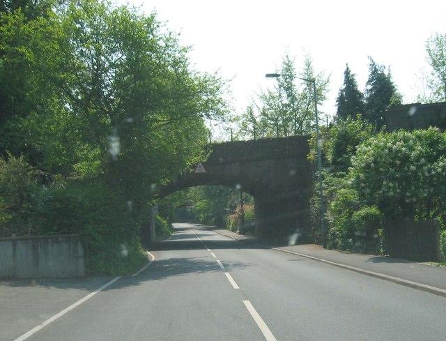 Railway Bridge by Usk Station