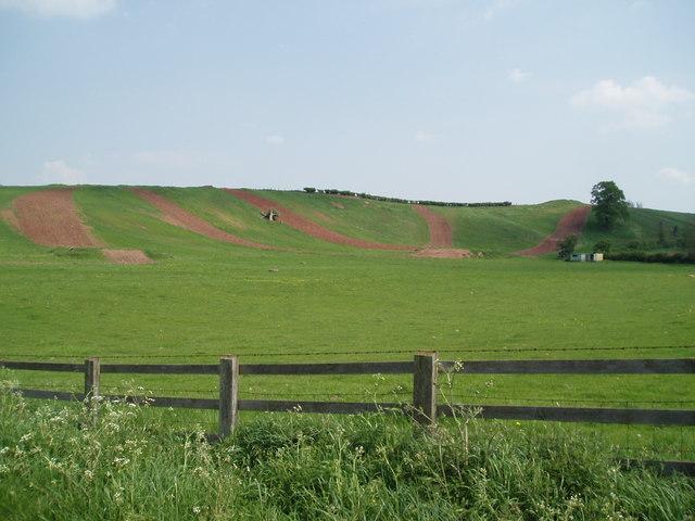 Motocross near Bevercotes, Nottinghamshire