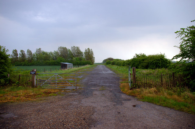 Old Taxi-strip at Goxhill