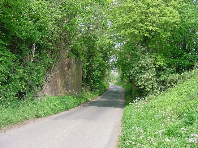 Stoke Prior - Old Railway Bridge