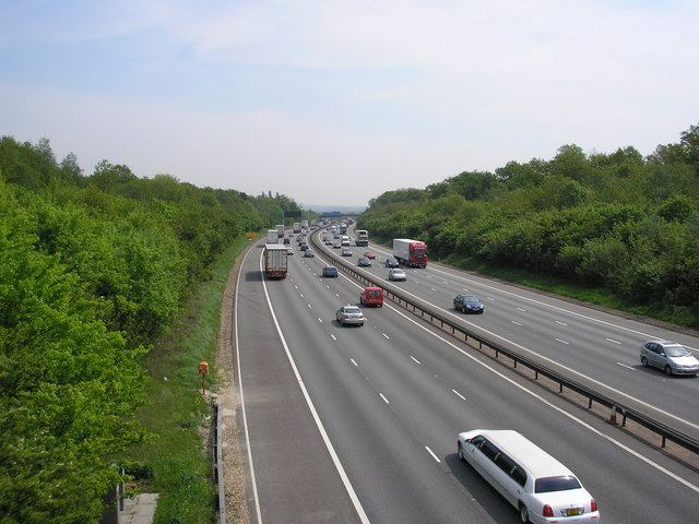 M25 from Brasted Hill Road