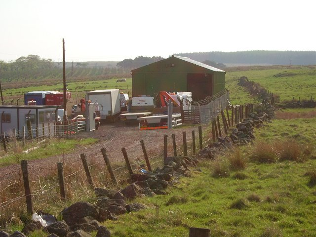 Small industrial site, Forth