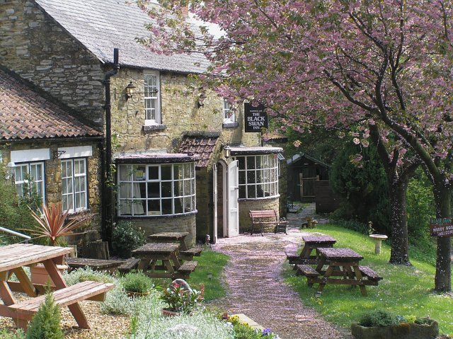 The Black Swan Inn at Oldstead.