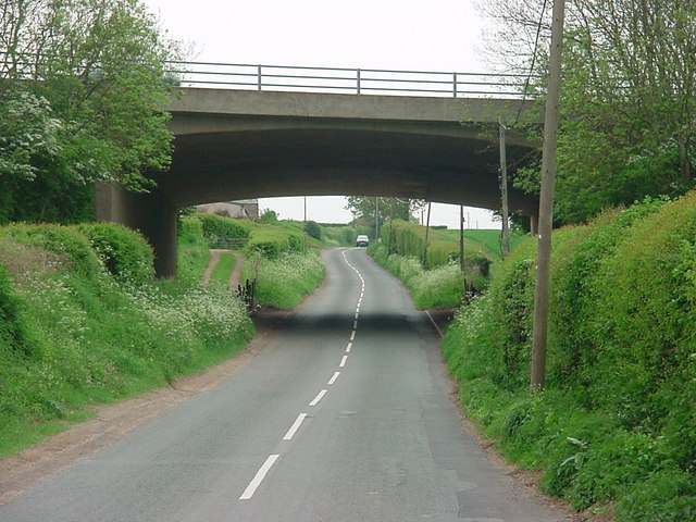 Near Crow Hill - Motorway Bridge.