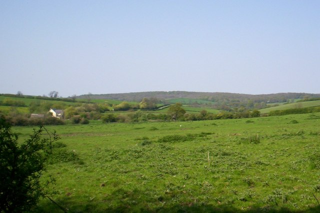 Countryside from Launde Big Wood