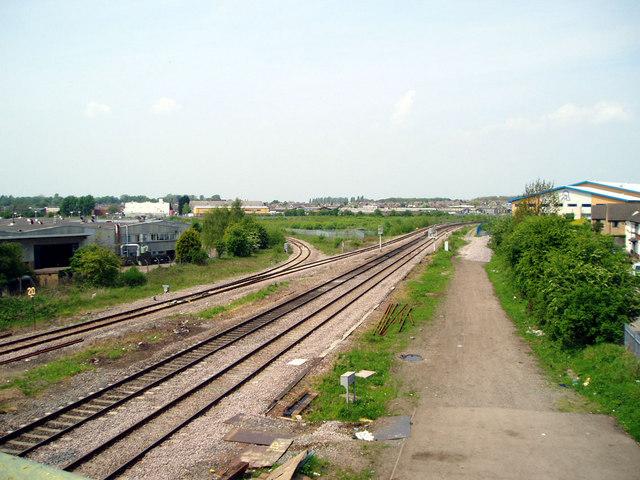 South Wigston railway junction