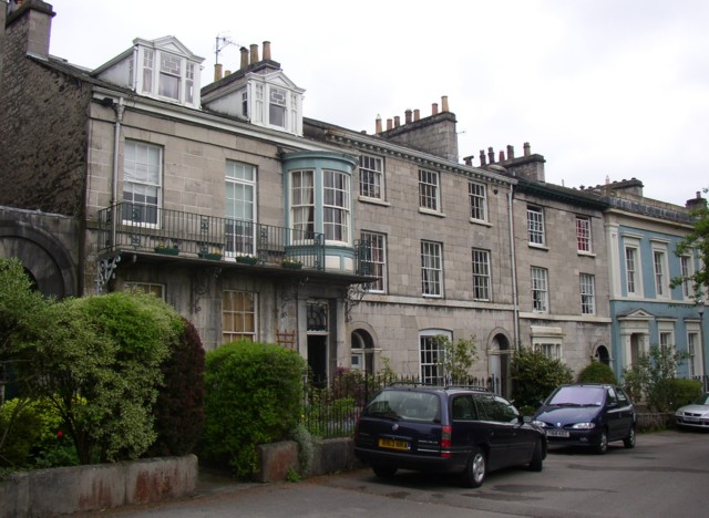 Georgian houses, Thorney Hill, Kendal