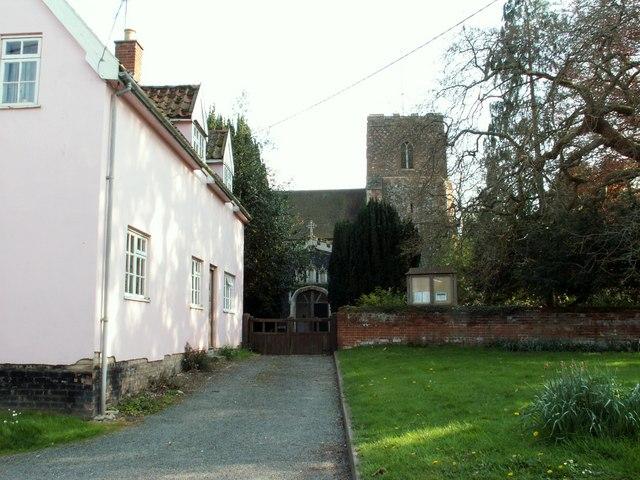 All Saints church, Hartest, Suffolk