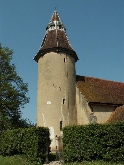 Holy Innocents church, Lamarsh, Essex