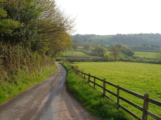 Lane near Howton