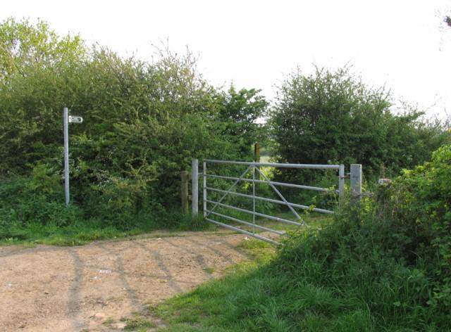 Gate, Stile, Track, Footpath