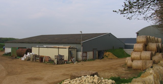 Coppice Farm farmyard