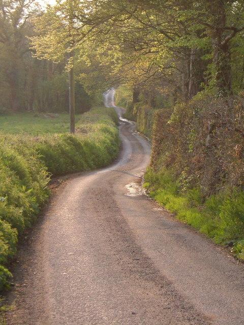 Lane approaching Forder