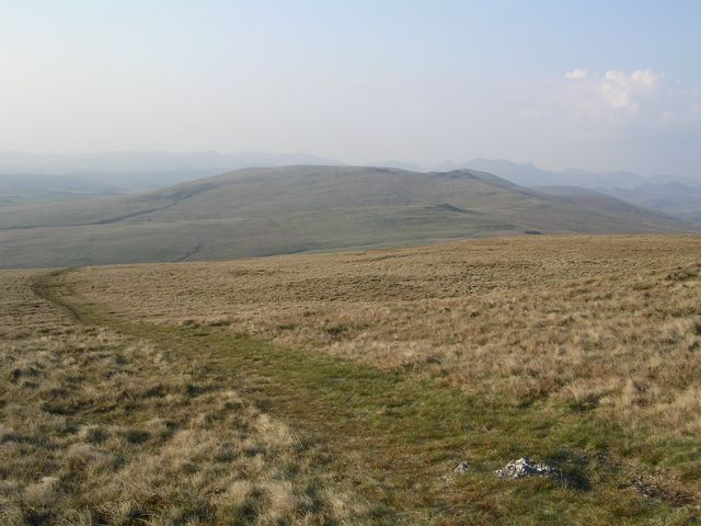 Path descending from Black Combe