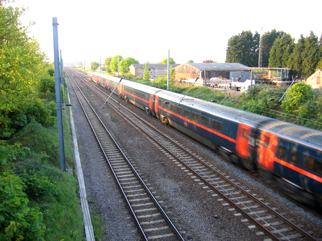 East coast main line, Biggleswade, Beds
