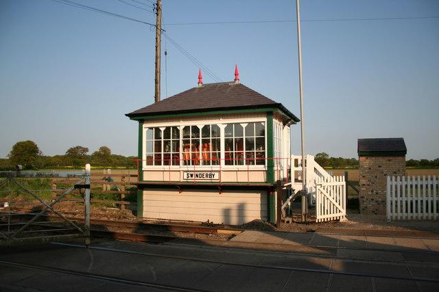 Swinderby Signal Box