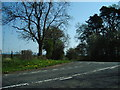 NY4336 : The junction of the road to Hutton End and the B5305 by Alexander P Kapp