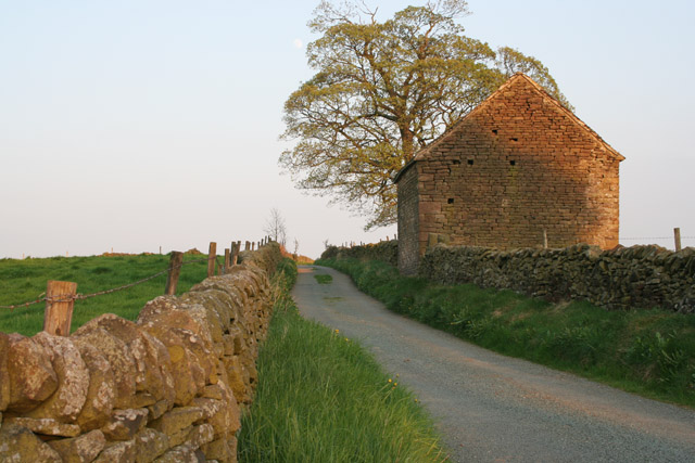 Stone barn near Shining Ford