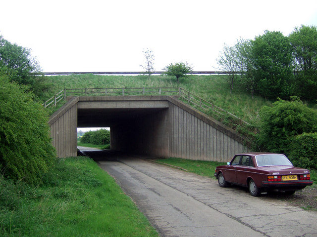 Passing under the A15(T)