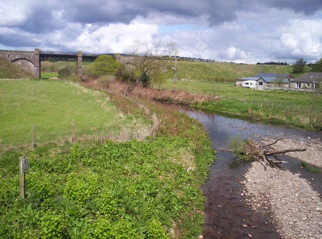 Bervie Water From Old Mondynes Bridge