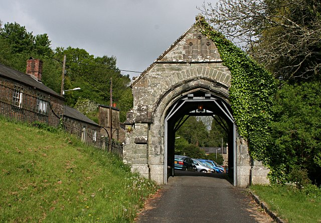 St Germans Church Lych Gate
